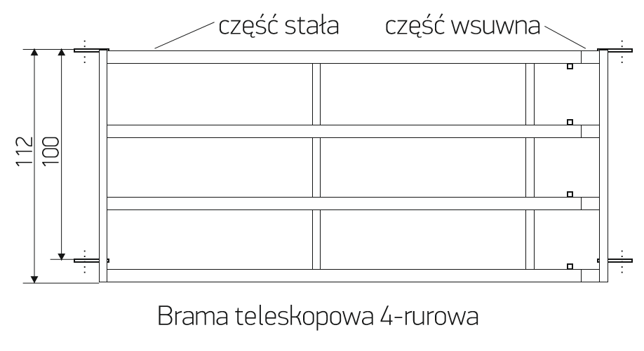 2_brama_teleskopowa_4_rurowa